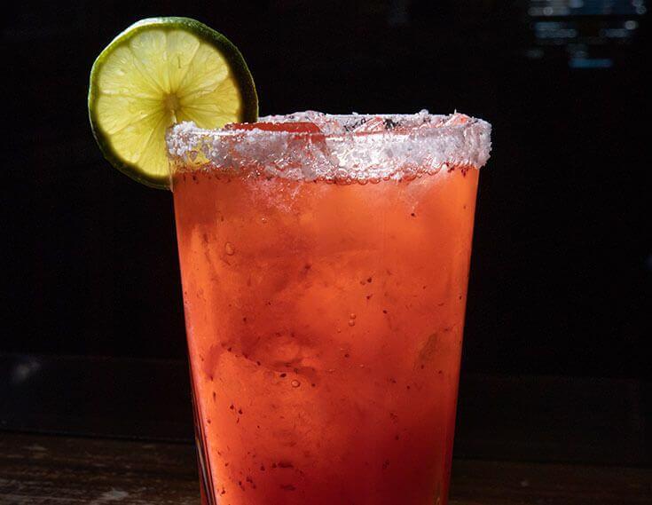 Ajo Al's Mexican Cafe Huevos cocktail drinks