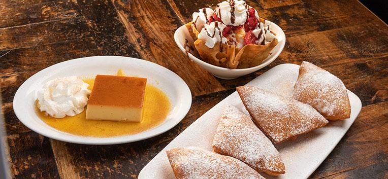 Ajo Al's dessert menu